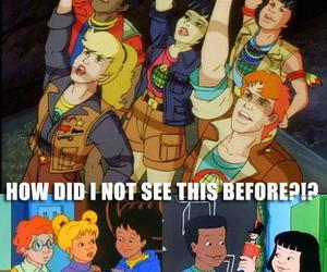 magic school bus, captain planet, and funny image