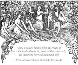 mermaid and quaote image