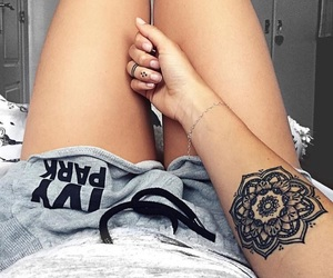 henna, house, and ink image