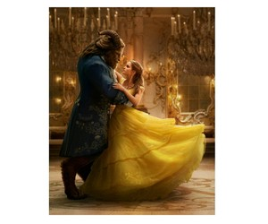 the beauty and the beast, ❤, and 🌹 image