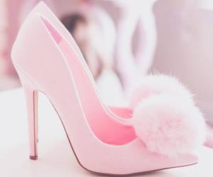 pink and heels image