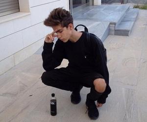 boy, black, and tumblr image