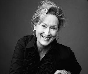 meryl streep, actress, and smile image