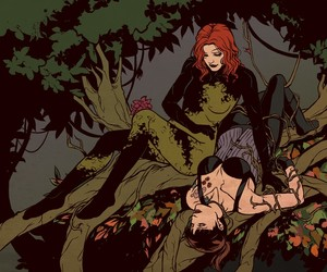 comics, poison ivy, and starling image