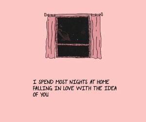 love, quotes, and pink image