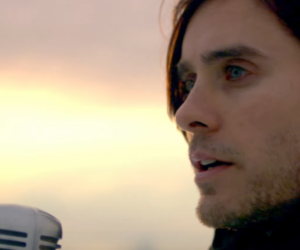 blue eyes, jared leto, and thirty seconds to mars image