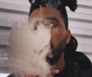 the weeknd, smoke, and xo image