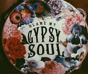 theme, gypsy, and flowers image