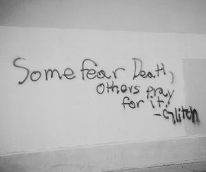 death, quote, and fear image