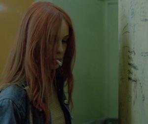 girl, Christiane F, and cigarette image