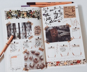 cozy, study inspiration, and bujo inspo image