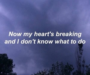 quotes, sad, and Lyrics image