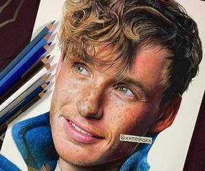 actor, harry potter, and art image
