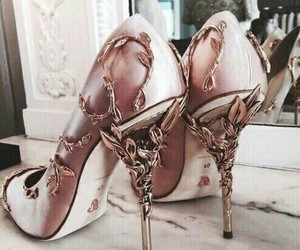 heels, esthetic, and shoes image