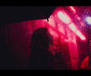 rain, red, and photography image