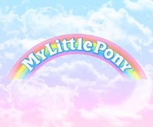 my little pony, rainbow, and cute image