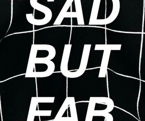 black, sad, and wallpaper image