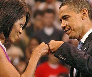 barack obama, michelle obama, and couple image