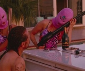pink and spring breakers image
