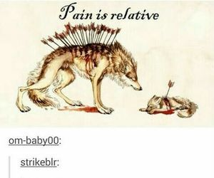 pain, tumblr, and quote image