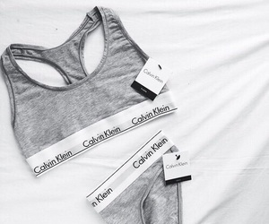 Calvin Klein, fashion, and grey image