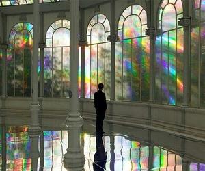 rainbow, aesthetic, and alternative image