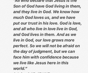 god's love, word of the day, and god's word image