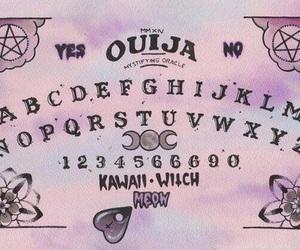 ouija, pastel, and ouija board image
