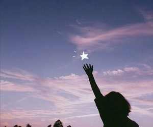 stars, sky, and aesthetic image