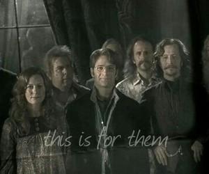 albus dumbledore, sirius black, and james potter image