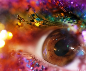 eye, glitter, and sparkle image