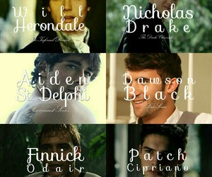 boys, finnick odair, and the infernal devices image