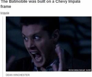 supernatural, batman, and Batmobile image