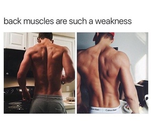 back, Hot, and muscles image