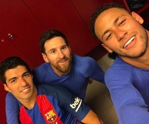 messi, msn, and fc barcelona image