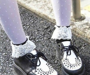 girl, japanese, and shoes image