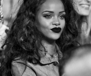 rihanna, riri, and lips image