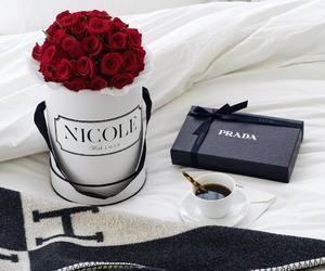 Prada, flowers, and luxury image