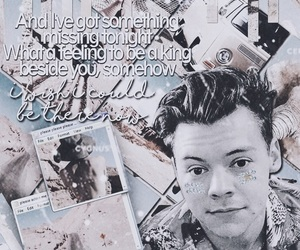 Harry Styles and wallpaper image