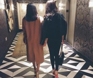 girl, friends, and luxury image
