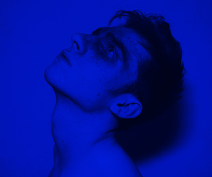 aesthetic, blue, and boy image