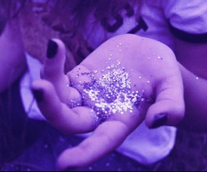 cool, glitters, and hand image