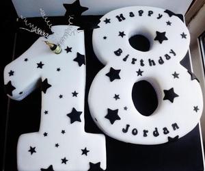 18, happy birthday, and gateau image