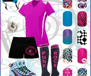 nails and roller derby image