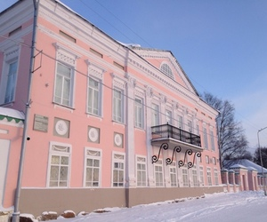 pink, building, and pale image