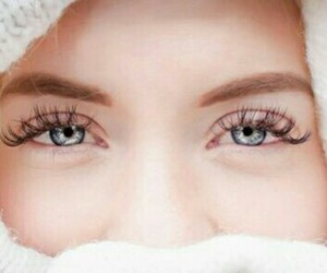 beauty, eyes, and withe image
