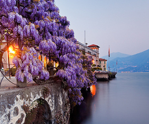italy, travel, and lake image