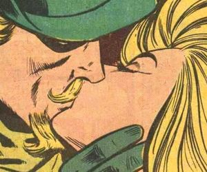 Black Canary and green arrow image