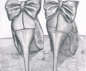 shoes, drawing, and art image