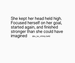 goal, quote, and strong image